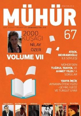İki Aylık Şiir ve Edebiyat Dergisi Kasım - Aralık 2016 - Mühür Sayı: 67