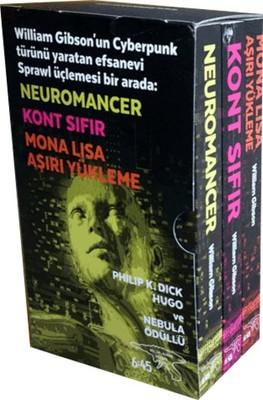 Sprawl Üçlemesi - 3 Kitap Takım Kutulu