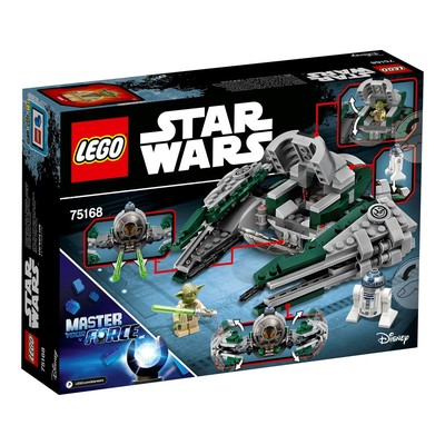 Lego-Star Wars Yoda Jedi Starfighter 75168