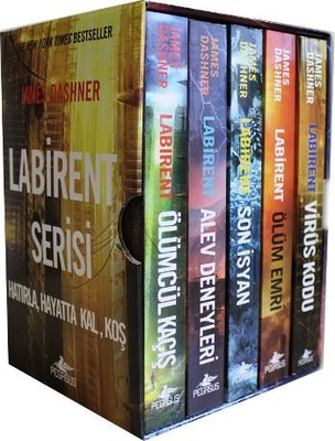 Labirent Serisi Kutulu Set-5 Kitap Takım