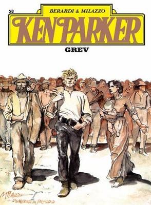 Ken Parker Altın Seri Sayı 58-Grev