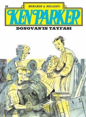 Ken Parker Altın Seri Sayı 59-Donovan'ın Tayfası