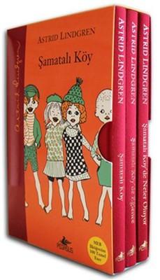Şamatalı Köy Kutulu Özel Set-3 Kitap Takım