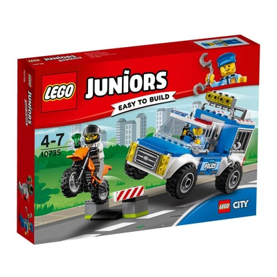 Lego-Juniors Police Truck Chase 10735