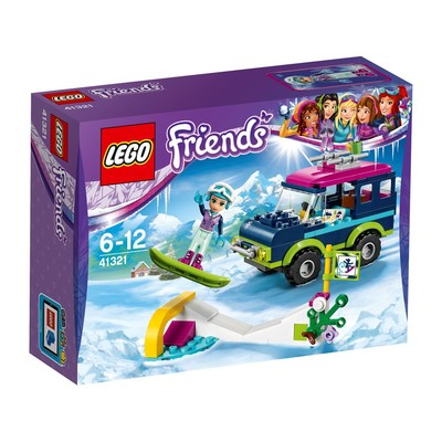 Lego-Friends Snow Resort Off Roader 41321