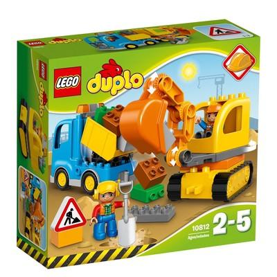 LEGO - DUPLO Town Kamyon ve Paletli Kazıcı