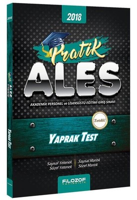 2018 ALES Pratik Yaprak Test