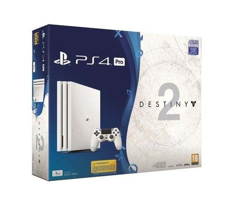 Sony PlayStation 4 Pro - PS4 Pro 1TB A Beyaz & Destiny 2