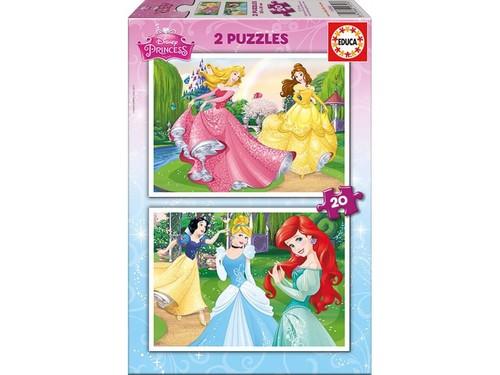 Educa-Disney Princess 2x20 Puzzle 16846