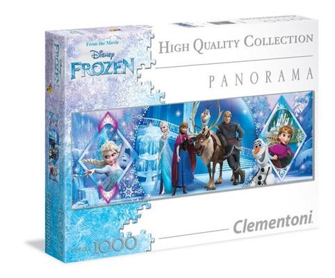 Clementoni- Disney Panorama Frozen 1000 Parça Puzzle 39349