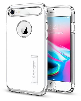 Spigen iPhone 7 Kılıf Slim Armor White 042CS21048
