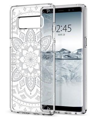 Spigen Galaxy Note 8 Kılıf Liquid Crystal Shine Clear 587CS22057