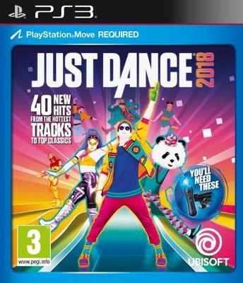 PSX3 JUST DANCE 2018