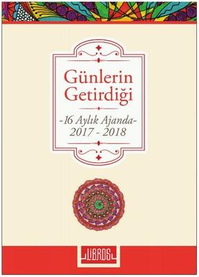 Libros Ajanda Gün.Get.16Ayl.2017-18