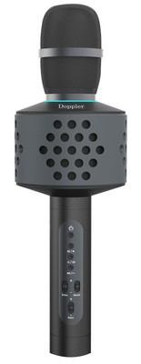 Doppler Bluetooth Speaker Karaoke Mikrofon KTV500 Siyah