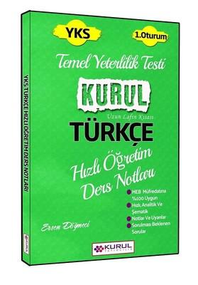 YKS Türkçe Hızlı Öğretim Ders Notları