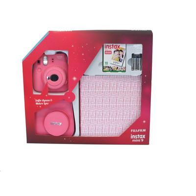 Fuji Instax Mini 9 Box2 Plus FLA PINK FOTSI00069