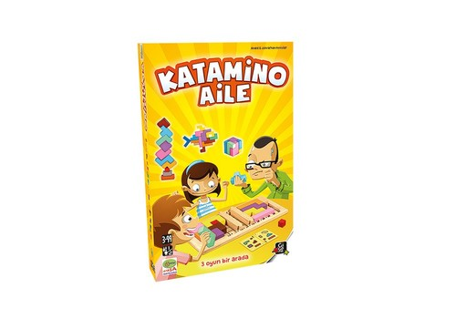 Gigamic Katamino Aile Kutu Oyunu