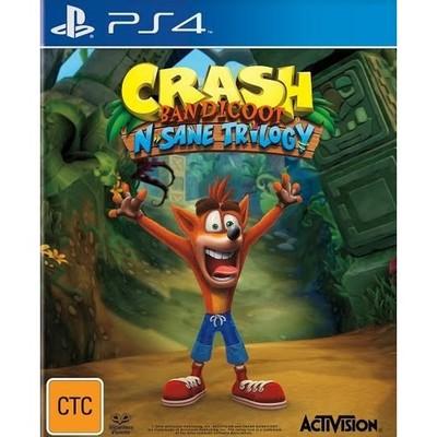 Ps4 Crash Bandicoot NS Trilogy