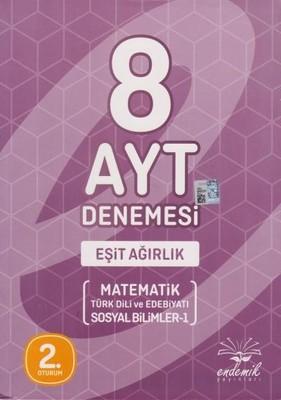 AYT 8'li Deneme Eşit Ağırlık Matematik-Türk Dili ve Edebiyatı-Sosyal Bilimler 1 2.Oturum