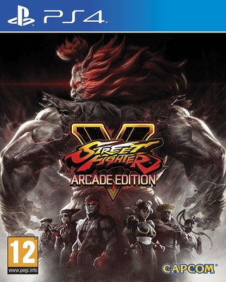 PS4 STREET FIGHTER V ARCADE EDT., Ps4