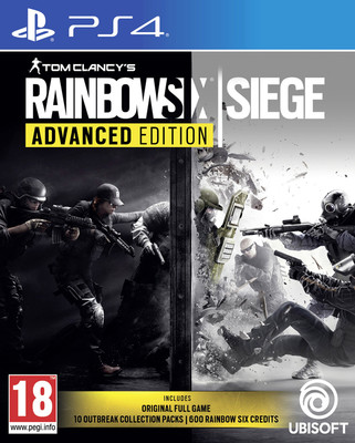 PS4 TOM CLANCY'S RAINBOW SIX SIEGE ADVANCED EDT.