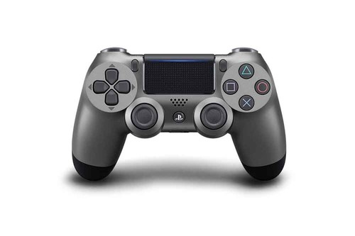 PS4 Dualshock Cont Steel Black v2