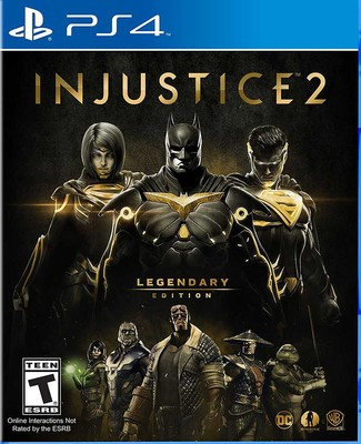 PS4 Injustice 2: Legendary ED