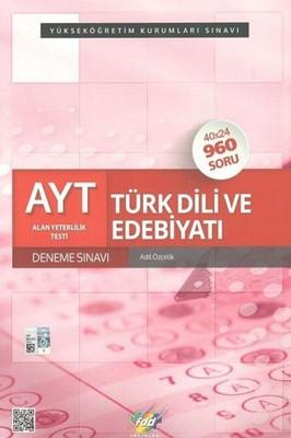 AYT Türk Dili ve Edebiyatı 40x24 Deneme Sınavı