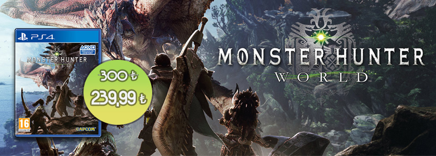 Monster Hunter World Özel Fiyat