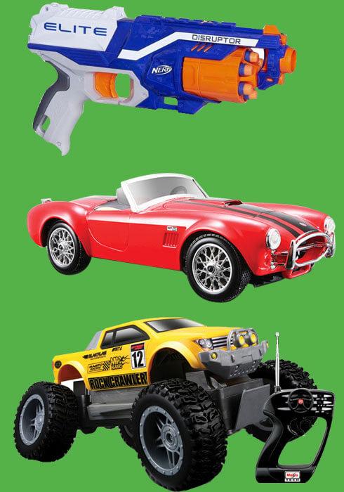 Erkek çocuk oyuncakları