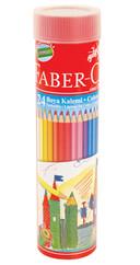 Faber-Castell Metal Tüpte Boya Kalemi  24 Renk - 5173116524