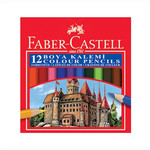 Faber-Castell Karton Kutu Boya Kalemi 12 Renk Yarim Boy - 5171116412