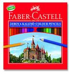 Faber-Castell Karton Kutu Boya Kalemi 24 Renk - 5171116324