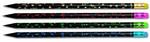 Faber-Castell Dipli Kurşunkalem Siyah Lata 4 Lü Blister - 5504115813