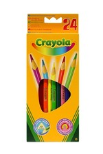 Crayola 24 Renk Kuruboya Kalemi 3624