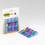 Post-İt® Index-İşaret Bandı, 4 Renk X 35 Adet, Mavi Dispenserlı 50X43 Mm'683-4Bbd'