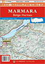 Marmara Bölgesi Haritası