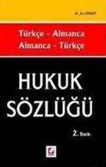 Hukuk Sözlüğü, Türkçe - Almanca / Almanca - Türkçe