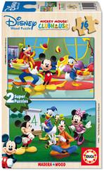Educa-Puz.2X16 M.Mouse Club House 1