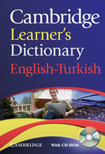 Cambridge Learner's Dictionary English-Turkish (with CD)