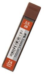 Faber-Castell Super Fine Min 0,5 Mm 2B 75 Mm (20 Min/Tüp) 5090127520