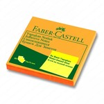 Faber-Castell Yapiskan Notluk 75x75 Fosforlu