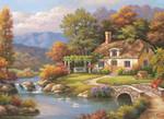 Anatolian Kir Evi / Cottage Stream 1000 Parça 3091