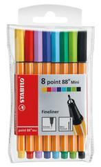 Stabilo Point 88 Mini Askili Pl Paket 8 Renk  688/08-1