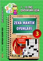 Zeka Mantık Oyunları 3 (7-12 Yaş Çocukları İçin)