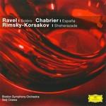 Ravel: Bolero; Chabrier: Espana; Rimsky-Korsakov: Sheherazade