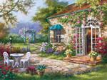 Art Puzzle Spring Patio 500 Parça 4177