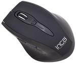 Inca IWM-500GL 2.4GHz 1600 Dpi Laser Wireless Nano Alicili Mouse-Siyah