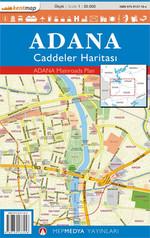 Adana Caddeler Haritası